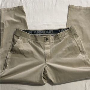 Under Armour khaki Pants